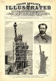old photos of the statue of liberty standing in paris were  old photos of the statue of liberty standing in paris were extraordinarily surreal