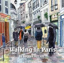 Walking in Paris — Louisa McCabe Art