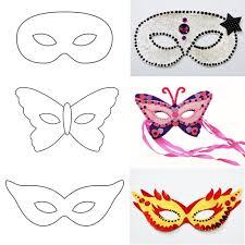 Mod Le De Masque De Carnaval Imprimer