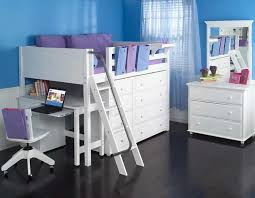 creative of full size loft bed with desk full size study loft bed maxtrix kids white