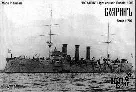 Купить <b>сборную модель</b> KB70116 Boyarin Cruiser 2-<b>nd</b> Rank, 1902 ...