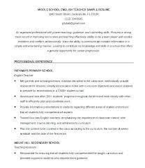 Sample Resume For Early Childhood Teacher Resume Sample Resume For ...