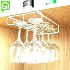 under cabinet stemware racks wood wine glass holder rack home depot universal dishwasher gl wine glass holder