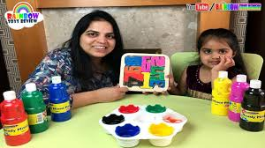 Learn Numbers for <b>Kids Baby Wooden</b> Numbers Painting <b>Learning</b> ...