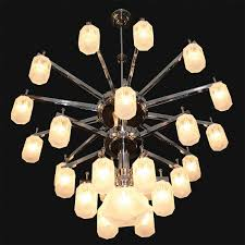 Large Art Deco Ceiling Lamp New York For Halls And Foyers