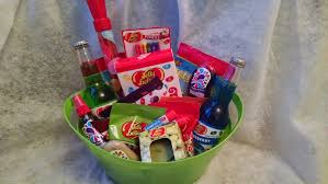 jelly belly candy gift basket thumbnail