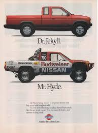 Amazon.com: Magazine Print Ad: 1989 Nissan Hardbody Pickup Truck,