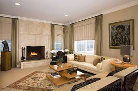 modern design living room interior with fireplace min