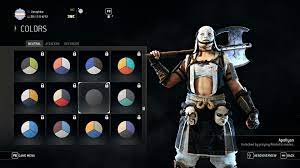 New Apollyon Color Forhonor
