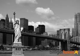 wall mural wallpaper brooklyn bridge statue of liberty new york black white photo 360 cm x