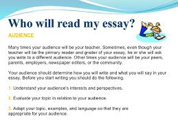 essay writing power point  5 audience many times your