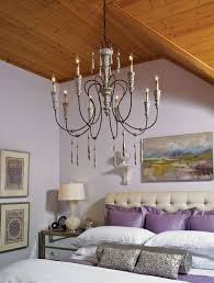purple passion the hannah chandelier ties this violet vista together perfectly