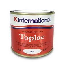 International Toplac Premium High Gloss Paint Snow White 2 5ltr