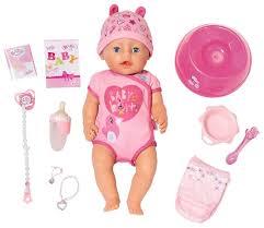 Интерактивная <b>кукла Zapf Creation</b> Baby Born 43 см 825-938 ...