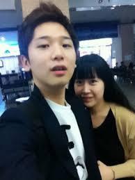 Yesung's brother Kim Jong jin with his Girlfriend (Seon Yeong Jeon) - t5ikl