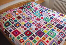 Crochet Granny Square Rug - Rugs Ideas & Crochet Granny Square Rug Patterns Squareone For Adamdwight.com