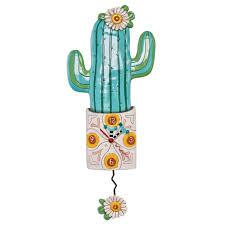 Allen Designs Llc Desert Bloom Clock By Allen Designs P1856