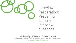 top interview and behavioural interview questions and best preparing interview questions university of toronto career centre sample interview questions