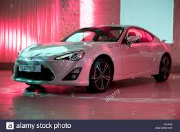 Brand new Toyota Sports Car, GT86, Model Year 2012 Stock Photo ...