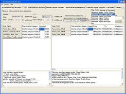 m3 form fig 3 one of screen pages of m3 ui events occurred in the