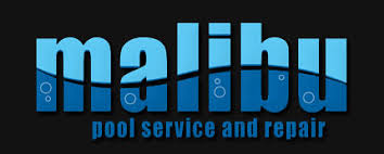 pool service logo. Malibu Pool Service AZ Logo