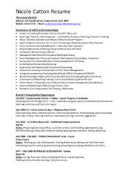 nicks s assistant resume
