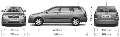 Car Blueprints / Чертежи автомобилей - Toyota