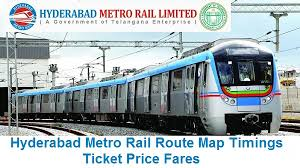Metro Train Fares Chart In Hyderabad Hyderabad Metro Rail Route Map Timings Ticket Price Fares Hmrl