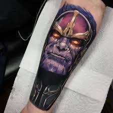 Thanos Tattoo By Jordan Baker Tattoo татуировки тату и картинки