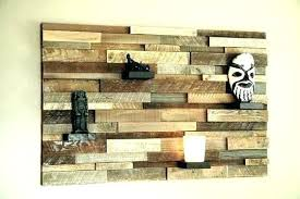 dean blue distressed wood panel
