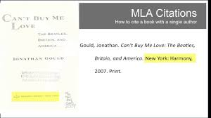I Heart Library Mla Citations Book One Author