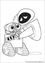 Small Picture Wall e coloring pages Educational Fun Kids Coloring Pages and