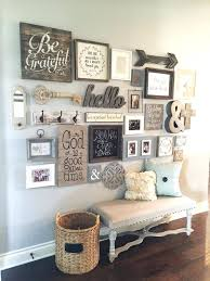 furniture for the foyer. How To Decorate A Foyer Farmhouse Style Decor Ideas Entryway Gallery Wall Rustic For Furniture . The