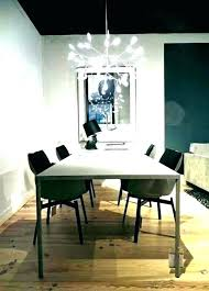dining room table chandelier height lamp ideas modern glass chandeliers proper size mounting remarkable standard over