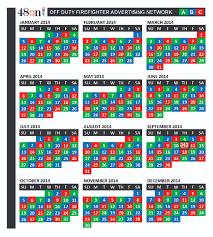 Firefighters Shift Calendar 2020 Firefighter Shift Calendar 24 On 48 Off Serpto
