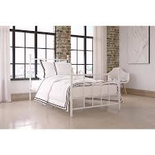 Dorel Home Manila White Metal Bed Multiple Sizes Walmart