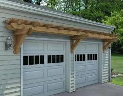 pergola over garage door pergolas how to build a above the trellis in build arbor over garage door