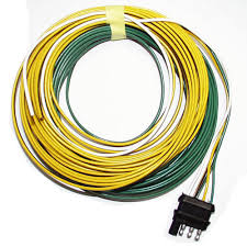 way flat wiring harness plug ft outback trailers picture of 4 way flat wiring harness plug 25ft