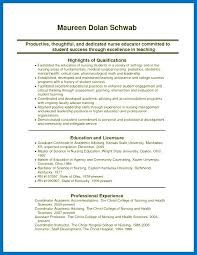 Sample Resume Nursing Albertogimenob Me