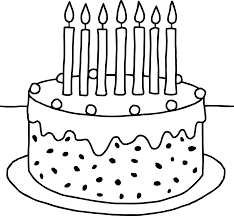 Small Picture Birthday Cake Coloring Pages Preschool