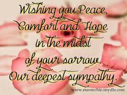 Condolences Quotes Classy Samples Of Touching Condolences Messages S Ome Condolences Quotes
