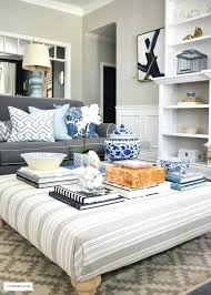 Decorating An Ottoman With Tray ottoman decorating ideas kerbyco 56