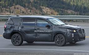 2018 subaru third row. fine 2018 2018 subaru tribeca replacement spy shots  image via s baldaufsbmedien and subaru third row o