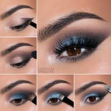 fashion light makeup for blue eyes astounding makeup looks for people who love blue picture
