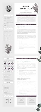 Well Designed CV, Modern yet Professional - Information is clear to read  and well structured