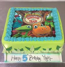 Dinosaur Train Cake Annettes Heavenly Cakes