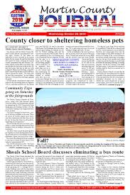 Martin County Journal October 20 by Martin County Journal - issuu