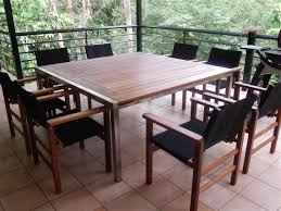 this table is 1 5m square with a byron timber insert