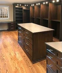 master closet islands his hers master walk in with two closet islands custom lighting and a