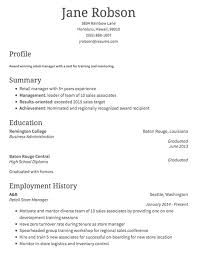 Good Resume Examples Retail How To Write A Retail Resume Classic Format Examples